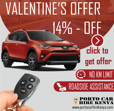 car rental kenya valentine offer